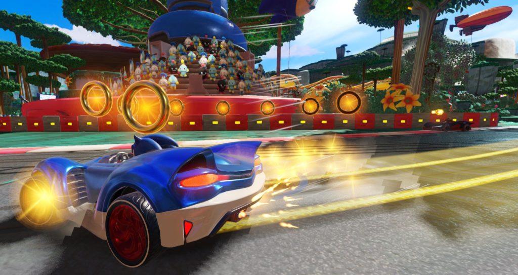 Тeam Sonic Racing в списке