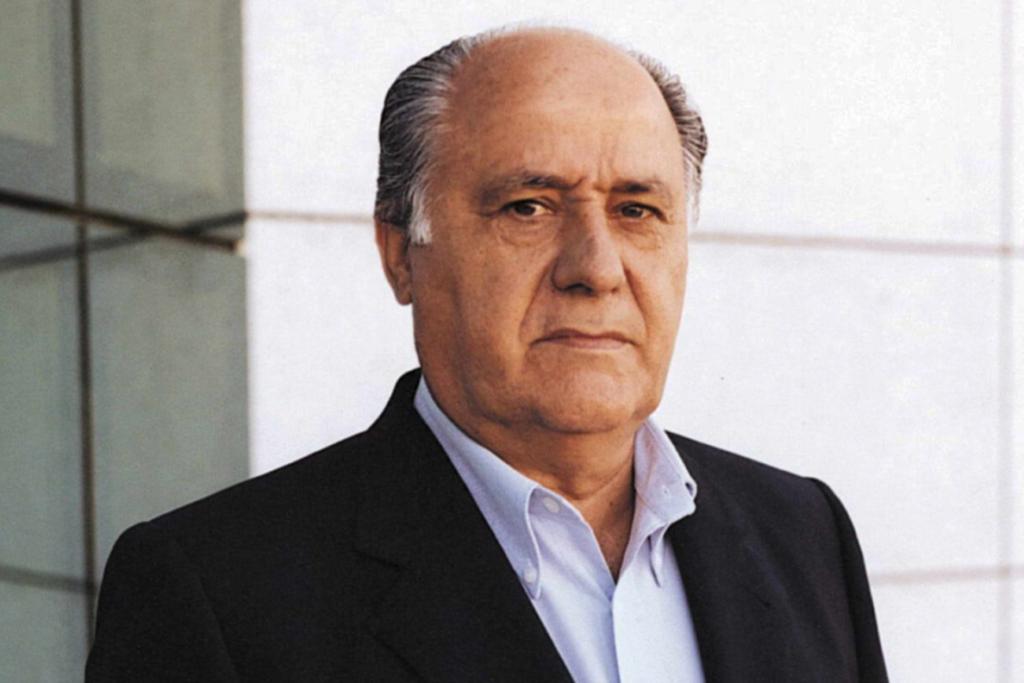 Амáнсио Ортéга 6 место в списке