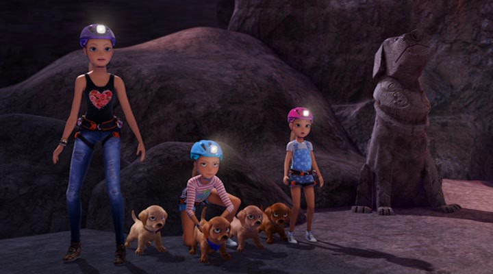 Барби и щенки в поисках сокровищ 8 место в списке