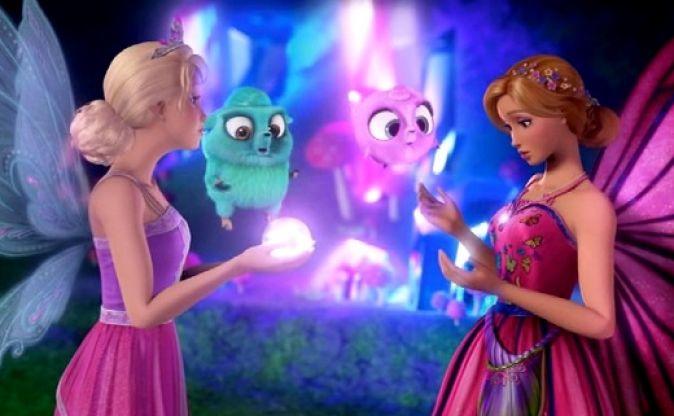 Барби: Марипоса и Принцесса-фея 13 место