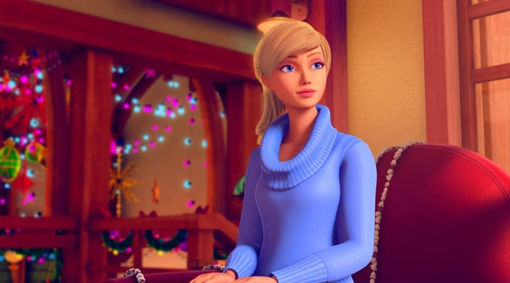 Барби: Чудесное Рождество 19 место в списке