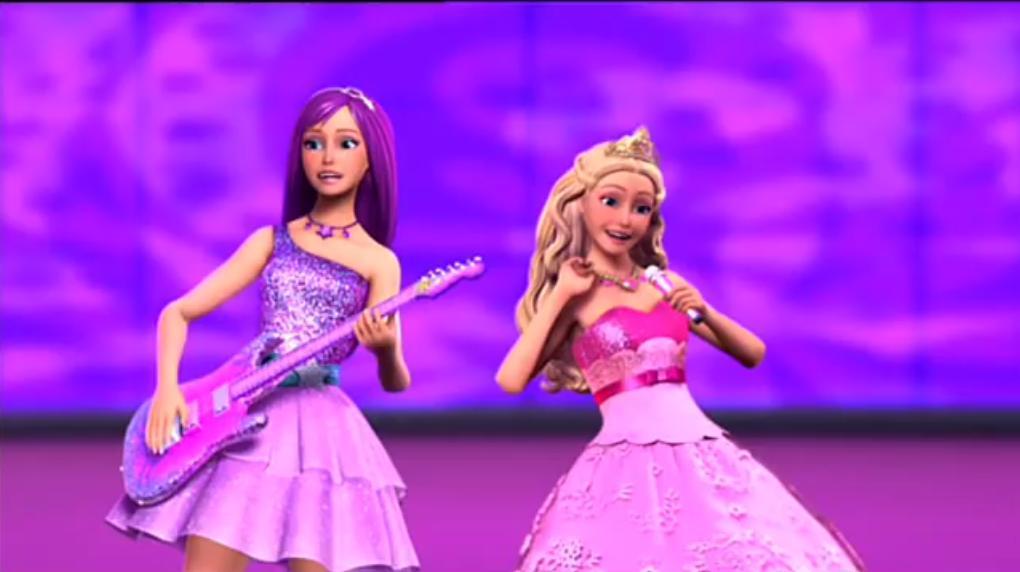 Барби: Принцесса и поп-звезда 17 место в списке