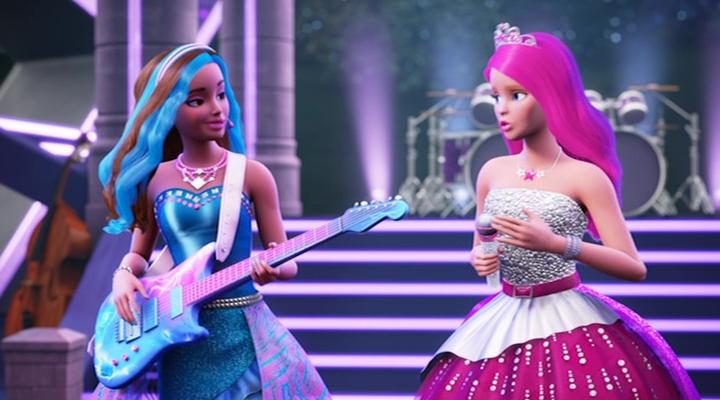 Барби: Рок-принцесса 9 место в списке